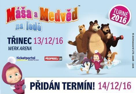 Máša a medvěd na ledě! (13.12.)