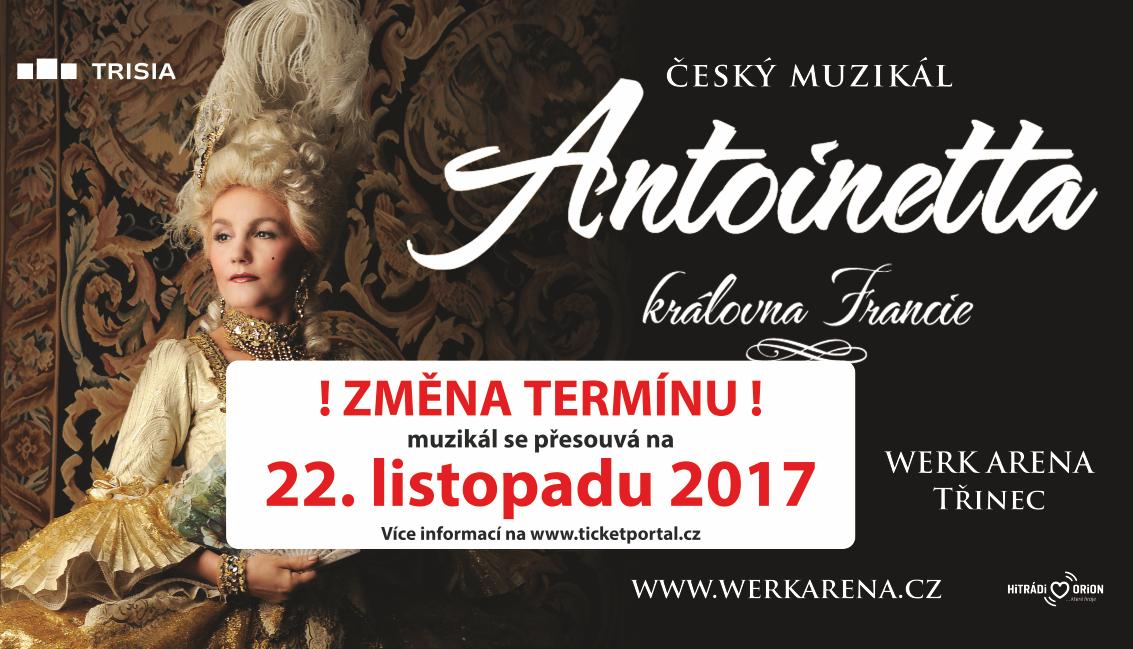 Antoinetta - ZMĚNA TERMÍNU!