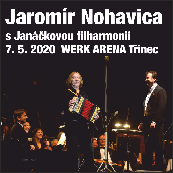 Nohavica s Janáčkovou filharmonií