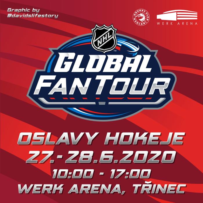 NHL Global Fan Tour ve WERK ARENĚ